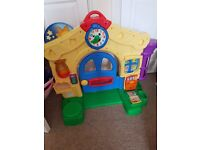 Toddler fisher price laugh and learn play house