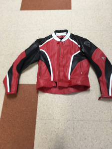 Motorcycle Leather Jacket and Chaps