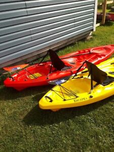 Riot Escape Sit-On-Top Kayaks on Sale-includes High-Back Seat