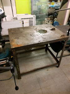 Steel table price reduced drastically