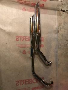 Suzuki M50 exhaust pipes