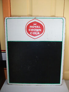 1961  tableau menu Royal Crown Cola