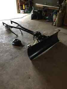 Snow plow blade attachment for John Deere/Scots riding mower London Ontario image 1