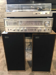 Vintage Record Player System