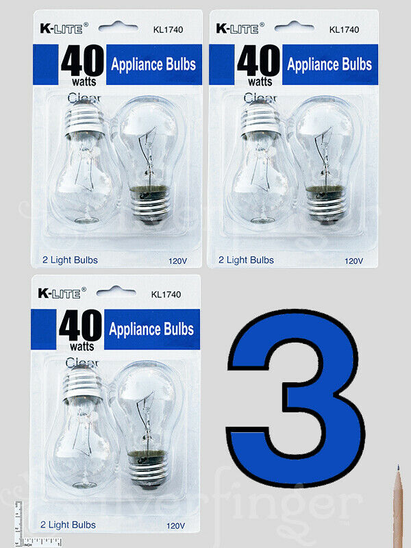 46 pcs appliance light bulbs refrigerator freezer