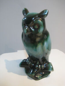 Blue Mountain Pottery LARGE OWL Mint Condition