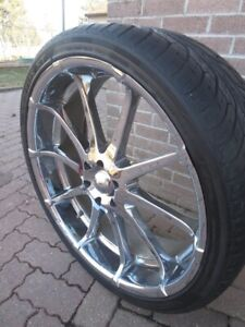 Selling 4 Tires With Rims 6 Bolt 26 Inch