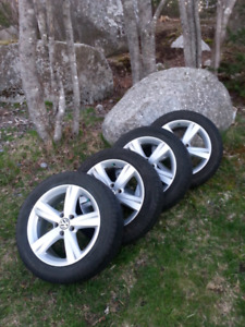 (Reduced!) Four Michelin all seasons on VW alloy rims