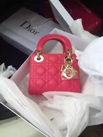 brand new **DIOR-mini**bag..for sale..pink.with receipt.