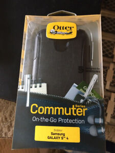 OtterBox Commuter Series for Samsung Galaxy S4 (Black)