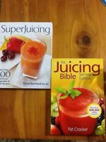 Juicing Books $15 each