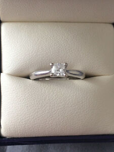 .26 carat Canadian Diamond White Gold Engagement Ring Comox / Courtenay / Cumberland Comox Valley Area image 5