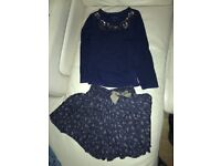 MONSOON GIRL TOP AND SHORTS