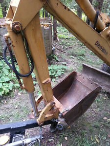 ditch witch r65 excavator backhoe
