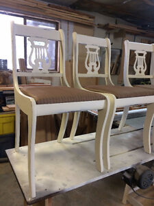 Vintage, Duncan Phyfe style chairs