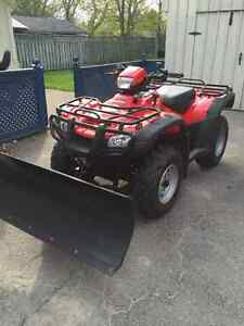 Great condition, barley used Honda ATV