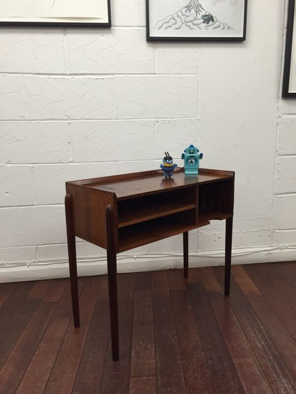 Lovely Small Danish Rosewood Table Vintage Retro Side Table 1960 S Bedside Table