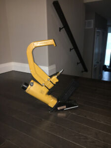 Lightly used Stanley Bostitch hardwood flooring nailer for sale