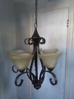 Beautiful chandeliers, two to choose from