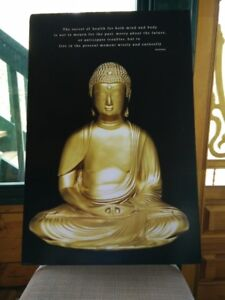 Matted Buddha Poster for Sale