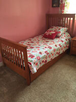 Twin Bedroom Set with Trundle Bed.