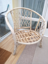 Circular Bamboo Chair for the Conservatory