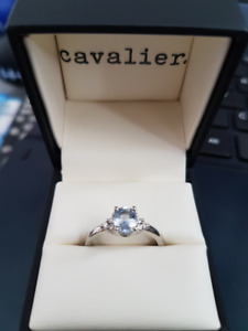 Custom made one of a kind Engagement Ring