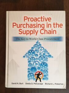 Proactive Purchasing in the Supply Chain textbook