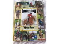 Horse riding book: jumping