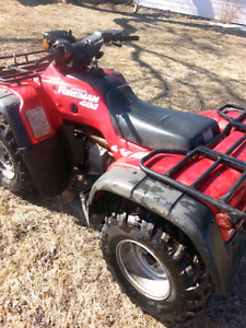 1995 HONDA 400 FOUR WHEELER 4WD