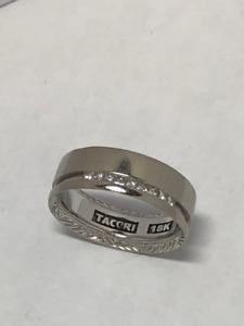 Tacori - 18k white gold - ring