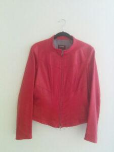 DANIER Women's Leather Jacket, LARGE size