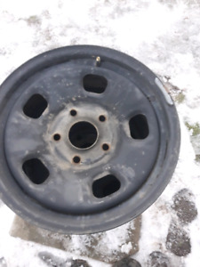 "17"" dodge ram steel rims"