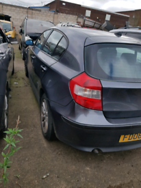 Breaking spares parts bmw 1 series e87 2005