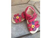 Clarkes shoes summer sandals size 5 children infant baby