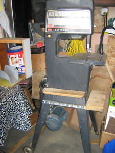 BAND SAW PURCHASED AT SEARS
