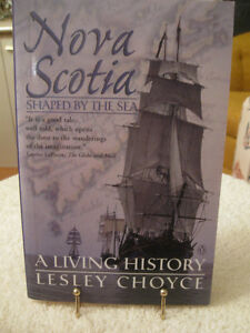 INTERESTING READ..NOVA SCOTIA  SHAPED BY THE SEA...SIGNED COPY