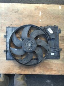 Mercedes cooling fan