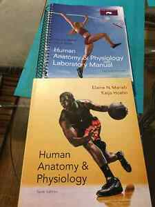 Textbooks-Anatomy and Physiology, Biology, Flash cards lab coat