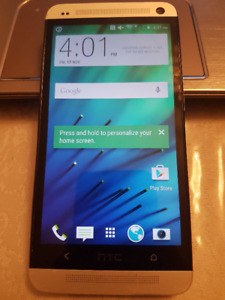 HTC One M7 and M8 32GB Unlocked All networks Chatr/Koodo/Fido
