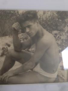 Original Photos: Male Model @ 1940