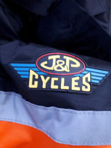 JP cycle rain suits XL and L