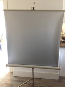 Vintage KNOX Portable Projector Screen