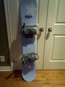 Snowboard with bindings Size 149