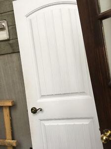 porte intérieure 30 po blanche