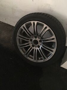 bmw tire 18in with rim