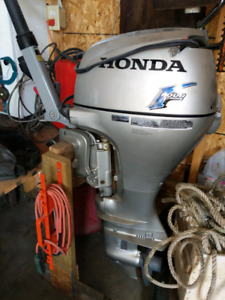 Honda 20 horsepower outboard almost new