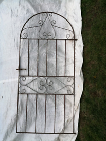 TALL ARCHED GARDEN GATE