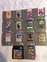 Nintendo NES video games