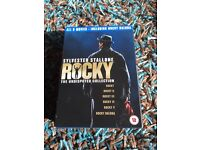 Rocky - box set dvd 6 discs collection.